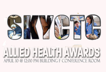 Allied Health Awards title slide