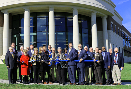 Leaders cut ribbon to officially open new Academic Complex at Southcentral Kentucky Community and Technical College